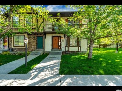 Wasatch County Townhouse For Sale: 175 N Hamlet Cir
