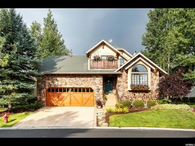 Wasatch County Single Family Home For Sale: 1185 N Warm Springs Rd