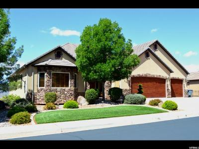 St. George Single Family Home For Sale: 2161 N Cascade Canyon Dr. Dr W