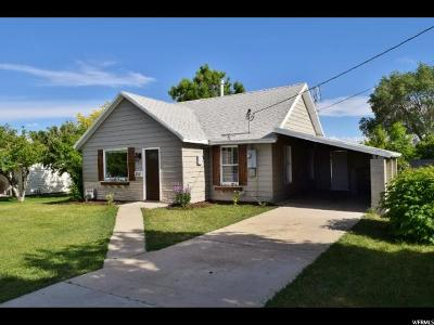 Emery County Single Family Home Under Contract: 228 E Center