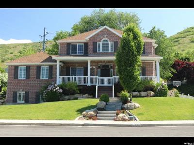 Orem Single Family Home For Sale: 1758 N Oakcrest Dr