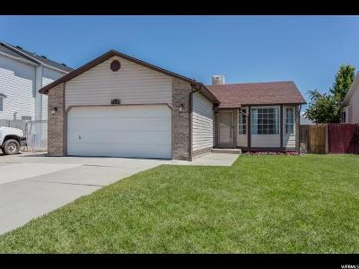 West Jordan Single Family Home For Sale: 5458 W Aristada Ave