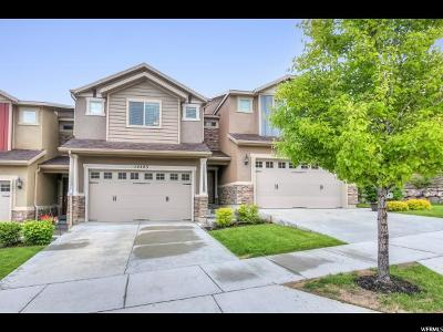 Herriman Townhouse For Sale: 14483 S Ryegate Dr W