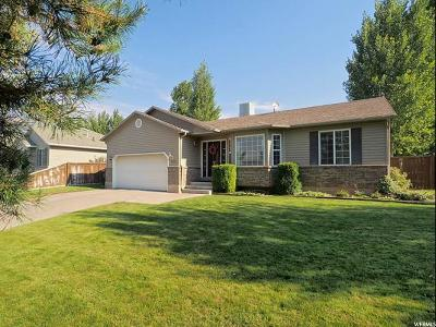 Santaquin Single Family Home Under Contract: 155 W 730 N