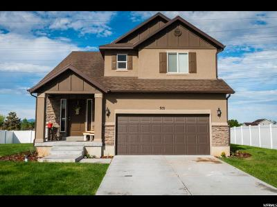 Clearfield Single Family Home Under Contract: 931 S 1100 W