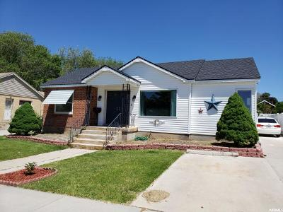 Brigham City Single Family Home Under Contract: 119 S 400 W