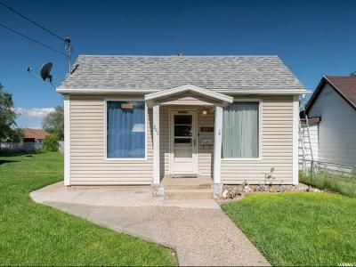 Tooele County Single Family Home Under Contract: 245 N 5th St