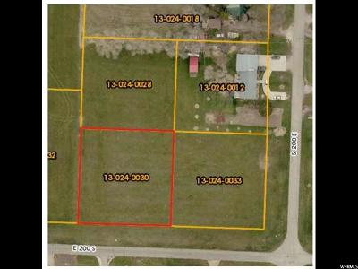 Newton Residential Lots & Land For Sale: 200 S 200 E