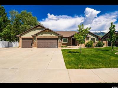 South Weber Single Family Home Under Contract: 7444 S 1740 E