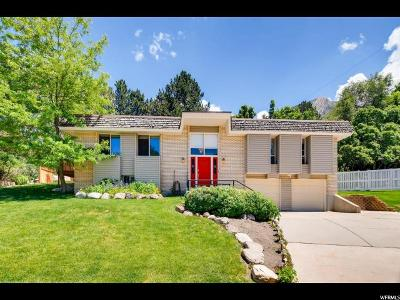 Holladay Single Family Home For Sale: 3215 E Wasatch Oak Cir S