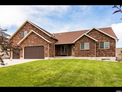 West Jordan Single Family Home For Sale: 3924 W Winthrope Dr