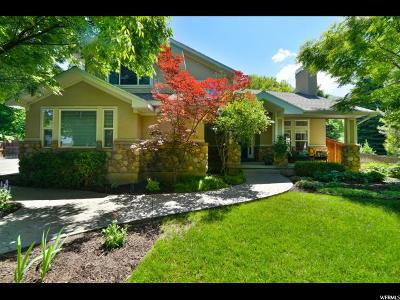 Holladay Single Family Home Under Contract: 4747 S Wander Ln E