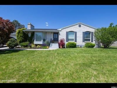 West Jordan Single Family Home For Sale: 7892 S 3800 W