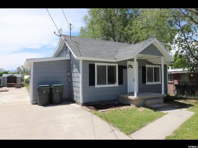 Tooele County Single Family Home Under Contract: 487 N 100 E