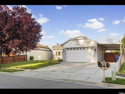 West Jordan Single Family Home For Sale: 6349 S Dry Wind Dr