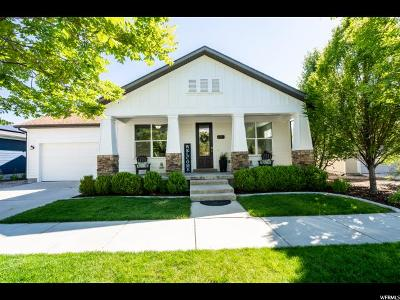 South Jordan Single Family Home For Sale: 11557 Roselawn Way