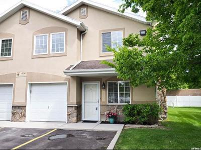West Jordan Townhouse Under Contract: 1586 W Compass Point Ln #D