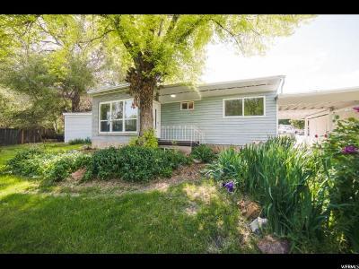 Springville Single Family Home Under Contract: 1449 S 400 E