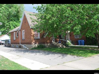 Logan Multi Family Home Under Contract: 30 N 200 W