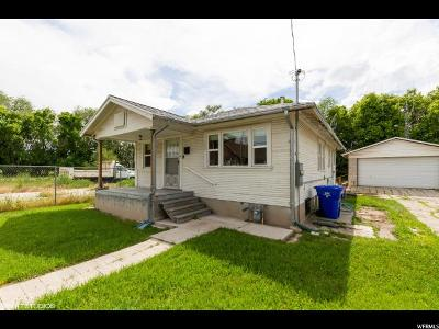 Midvale Single Family Home For Sale: 7608 S Jefferson St