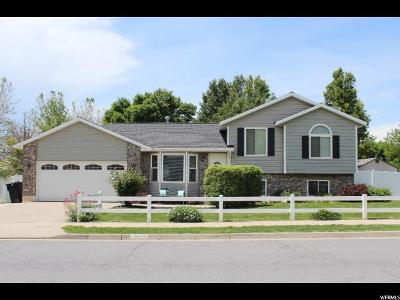 Kaysville Single Family Home Under Contract: 1262 S 700 E