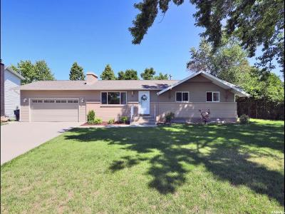 Kaysville Single Family Home For Sale: 481 E Laurelwood E