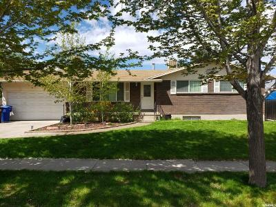 Midvale Single Family Home For Sale: 7362 S 145 E