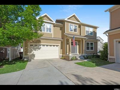 West Jordan Single Family Home Backup: 6821 W Bottlebrush Ln S