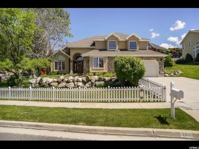 Davis County Single Family Home For Sale: 380 N 1225 E