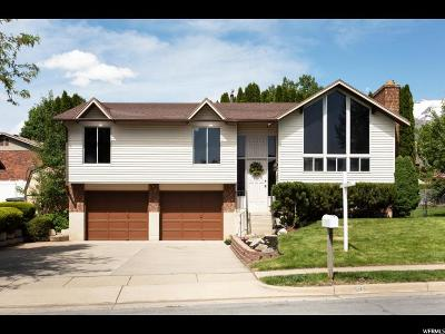 Kaysville Single Family Home Under Contract: 585 E Cherrywood Dr