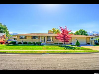 Midvale Single Family Home Under Contract: 8293 S Coolidge St