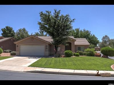 St. George Single Family Home Under Contract: 1173 W Snow Canyon Pkwy #69