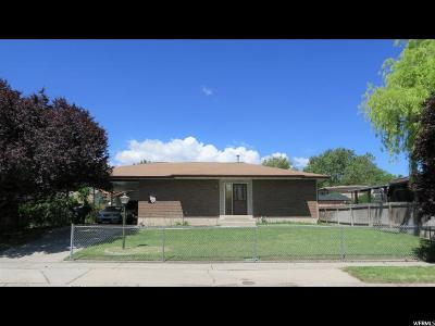 West Jordan Single Family Home For Sale: 7884 S 3620 W
