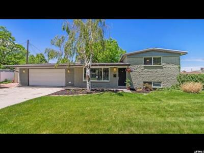 Cottonwood Heights Single Family Home Backup: 7038 S Deville Dr