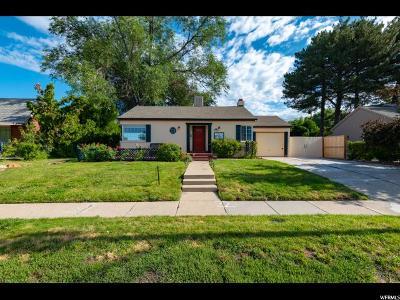 Salt Lake City Single Family Home For Sale: 1559 E 2100 S