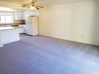 Weber County Condo For Sale: 1325 S Lincoln Avenue Ave E #F-2