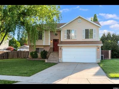 Layton Single Family Home Under Contract: 1061 N 125 E