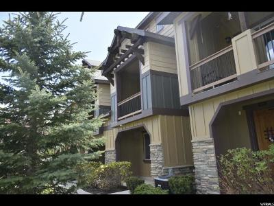 Wasatch County Townhouse For Sale: 870 W Carving Edge Ct