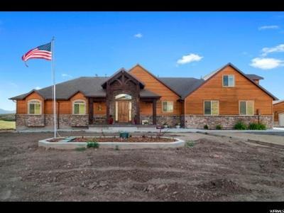 Preston Single Family Home For Sale: 7919 N Hwy 34
