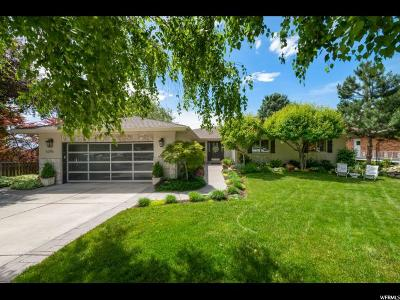 Holladay Single Family Home For Sale: 5296 S Hillsden Dr