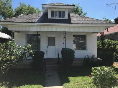 Weber County Single Family Home Under Contract: 3162 Kiesel
