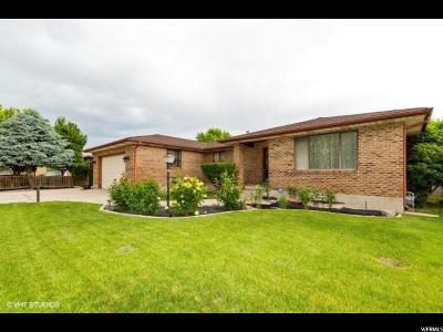 Salt Lake City Single Family Home For Sale: 3889 S Congress Dr