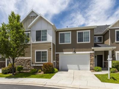 Riverton Townhouse For Sale: 11638 S Stafford View Dr