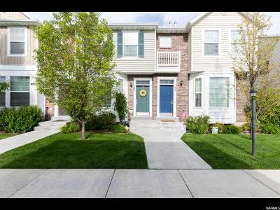 Provo Townhouse Under Contract: 262 N 1260 W