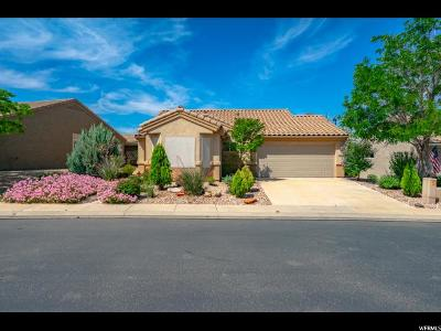 St. George Single Family Home For Sale: 4370 S Laurel Green Dr