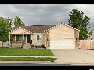 Salt Lake City Single Family Home Under Contract: 6160 W Mill Valley Ln S