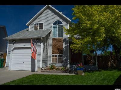 West Jordan Single Family Home Under Contract: 8730 S 3982 W