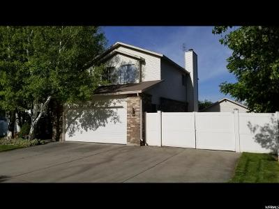 West Jordan Single Family Home Under Contract: 9231 S Shoshone Lake Dr