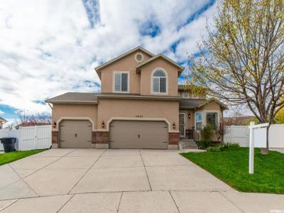 Herriman Single Family Home For Sale: 5443 W Moss Rose Ct