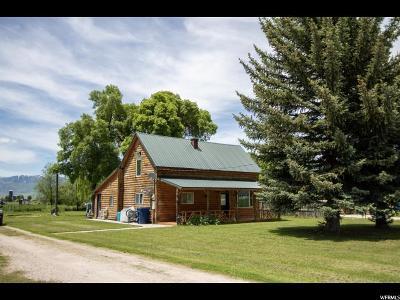 Preston Single Family Home Under Contract: 233 N 400 W